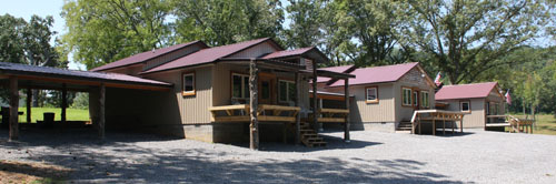 Fisherman's Village offering cabin rentals designed with the fisherman in mind